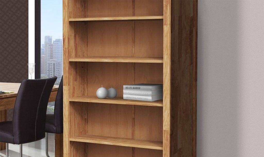 szafka biurowa z drewna