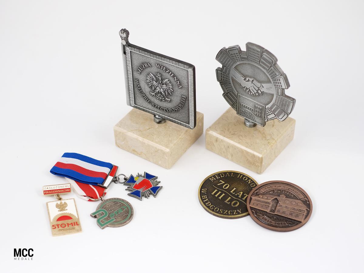 medale dla pracownikow firm